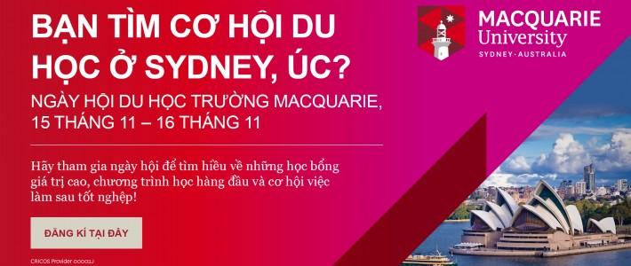 Bạn tìm học bổng và cơ hội học tập tại Sydney, Úc?